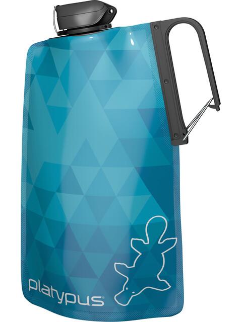 Platypus DuoLock SoftBot Bottle 750ml Blue Prisms